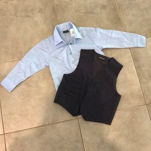 Other - Dress Shirt and Vest